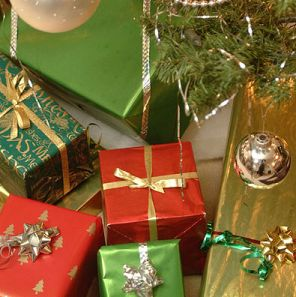 christmas-gifts under the tree